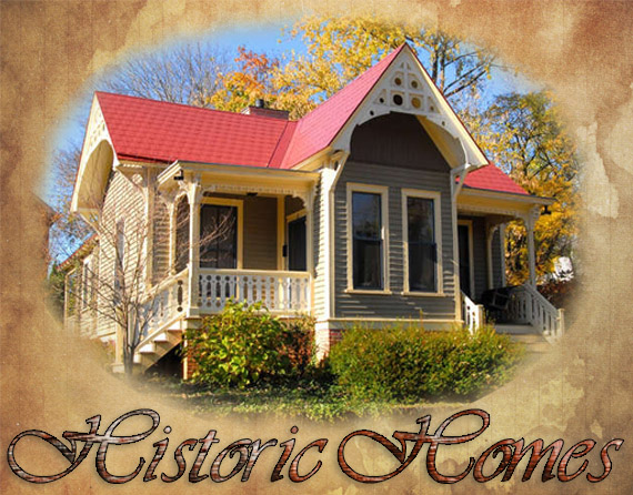 Historic Homes For Sale in Asheville & WNC