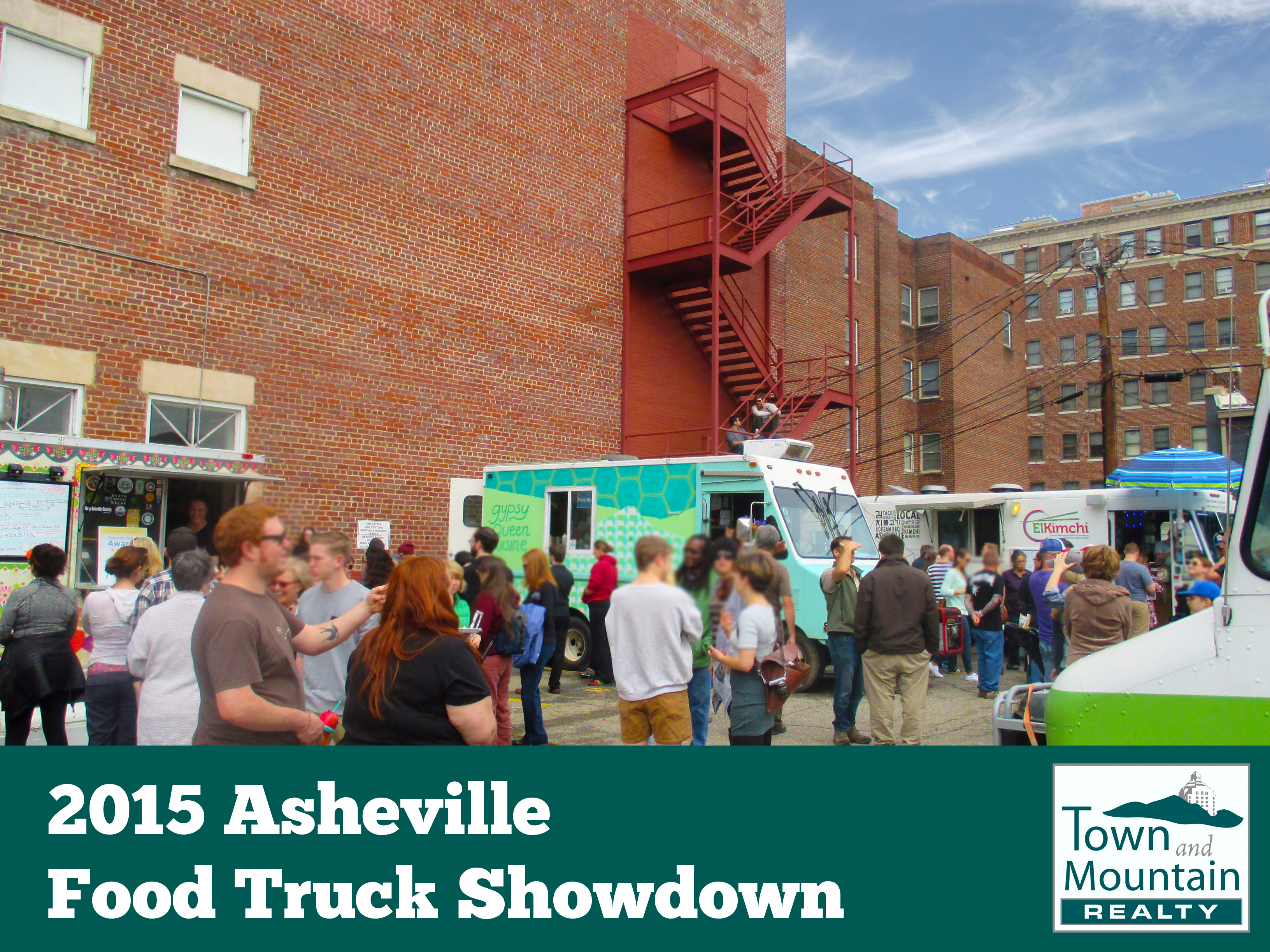 Asheville Food Truck Showdown - Photo Credit Town and Moutnain Realty