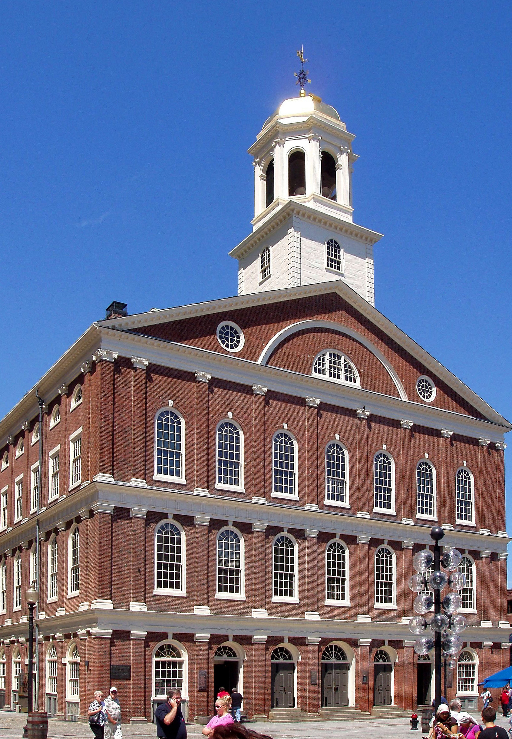 Fanueil Hall in Boston