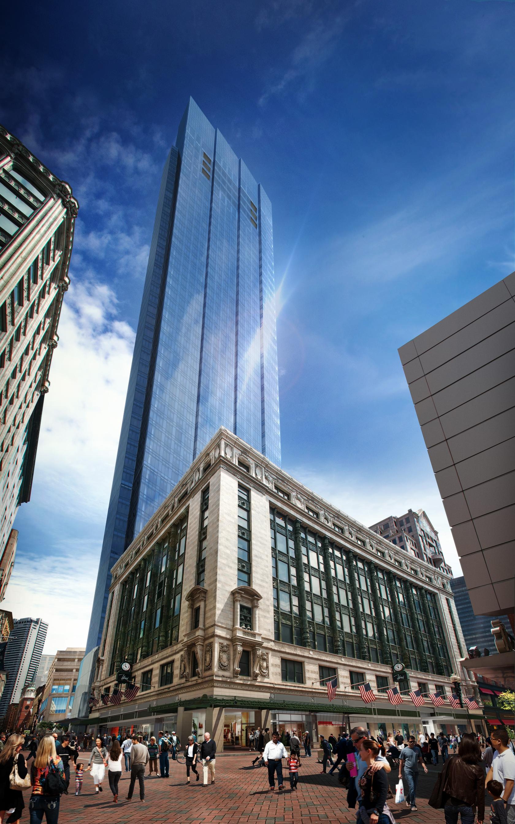 millennium tower luxury building