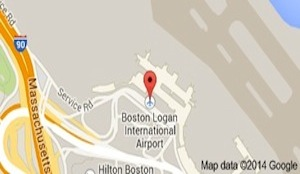 logan airport map
