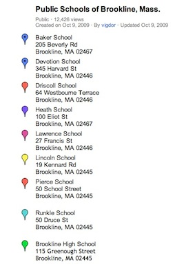 brookline school map 2