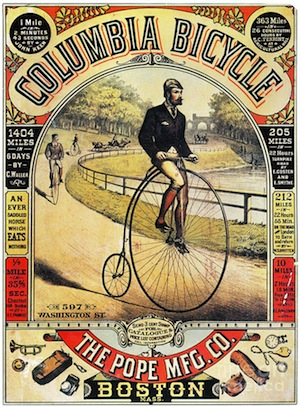 columbia bicycle ad