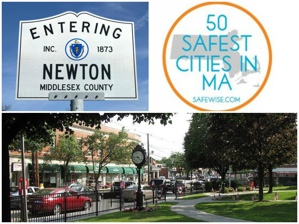 newton safest town