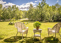 Field of Dreams contemporary Adirondack home in Bartlett, NH