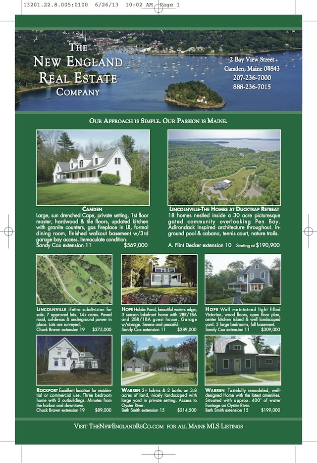 New England RE Company Brochure 3