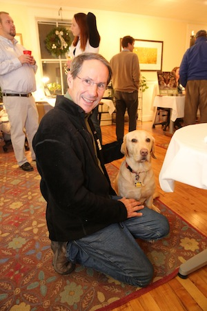 The New England Real Estate Co. dog at PAWS