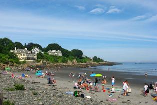 York, Maine's York Harbor Beach
