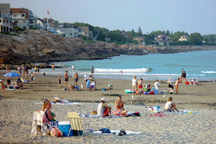 Short Sands Beach in York, Maine