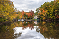 Homes on Pine River Pond in New Hampshire