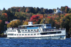 Lake Winnipesaukee's M/S Mount Washington