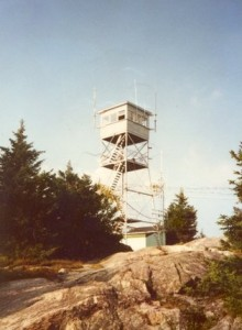 New Hampshire fire towers
