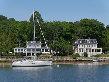 wolfeboro waterfront home
