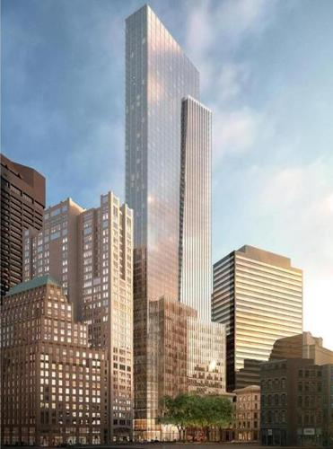Millennium Tower project rendering