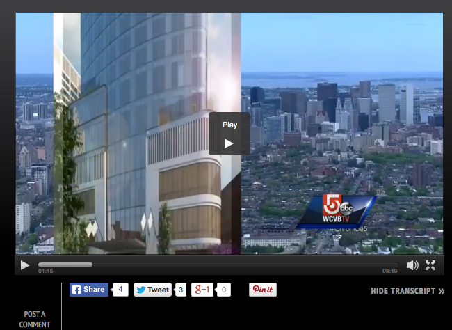 Chronicle explores Boston's current building boom