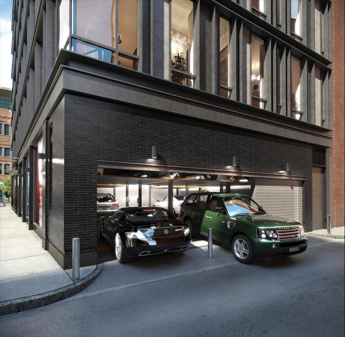 10 farnsworth boston 39 s luxury condos in seaport district for Luxury barn builders