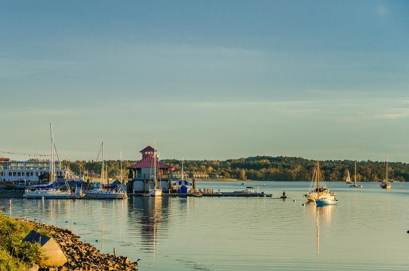 Burlington VT Waterfront