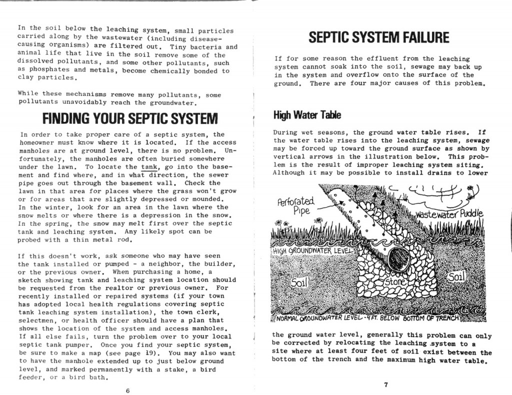 1978 State of Vermont Agency of Environmental Conservation Septic Systems Pamphlet b_Page_05