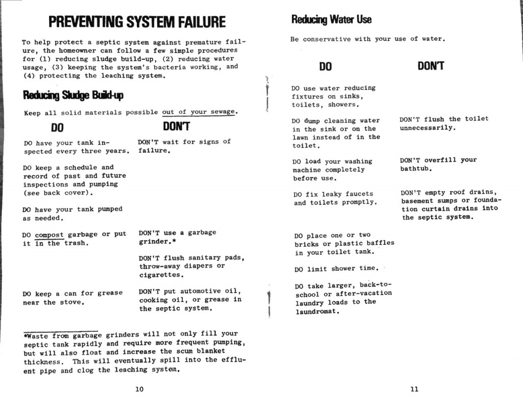1978 State of Vermont Agency of Environmental Conservation Septic Systems Pamphlet b_Page_07