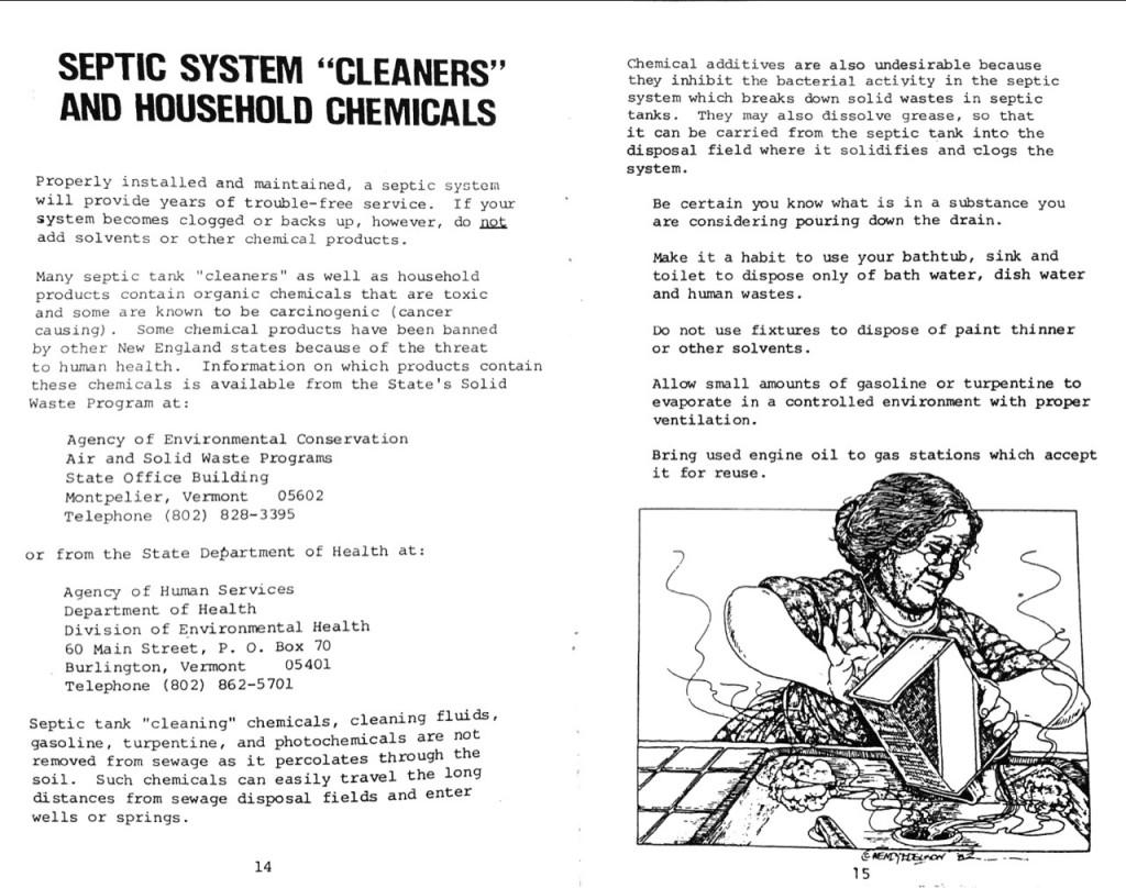 1978 State of Vermont Agency of Environmental Conservation Septic Systems Pamphlet b_Page_09