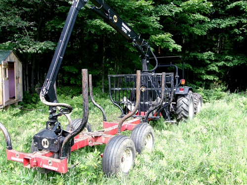 Bill Torey Tractor Towed Forwarder e
