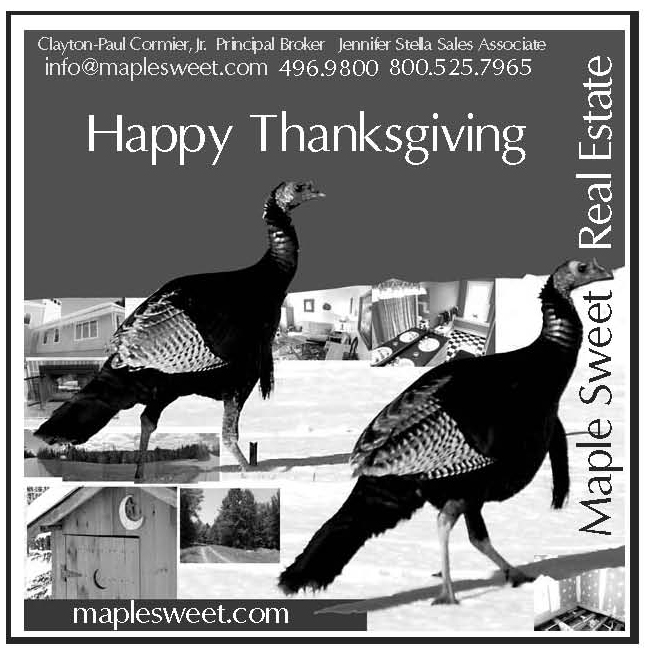 Maple Sweet Real Estate Happy Thanksgiving 11.24.11