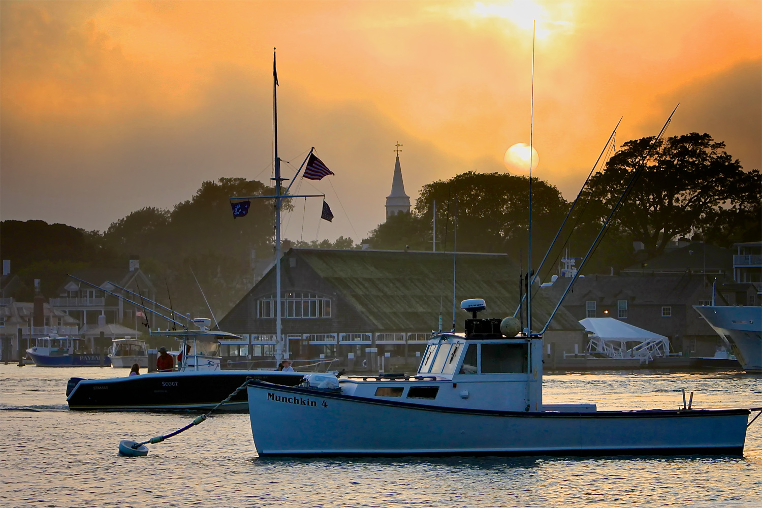 Edgartown MA Waterfront Homes for Sale