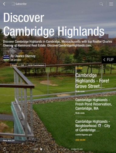 Cambridge Highlands real estate