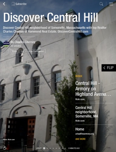 Discover Central Hill in Somerville MA