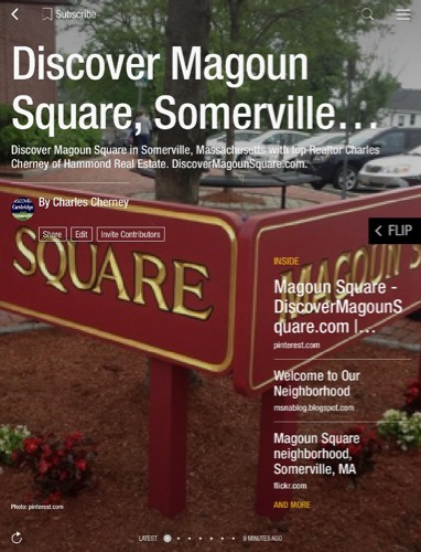 Magoun Square Somerville MA Real Estate