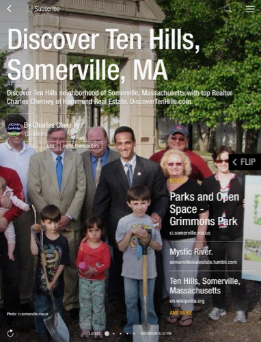 Ten Hills Somerville MA Real Estate