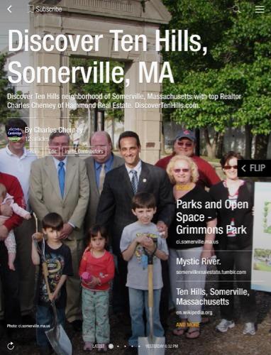 Ten Hills Somerville Real Estate Homes for Sale