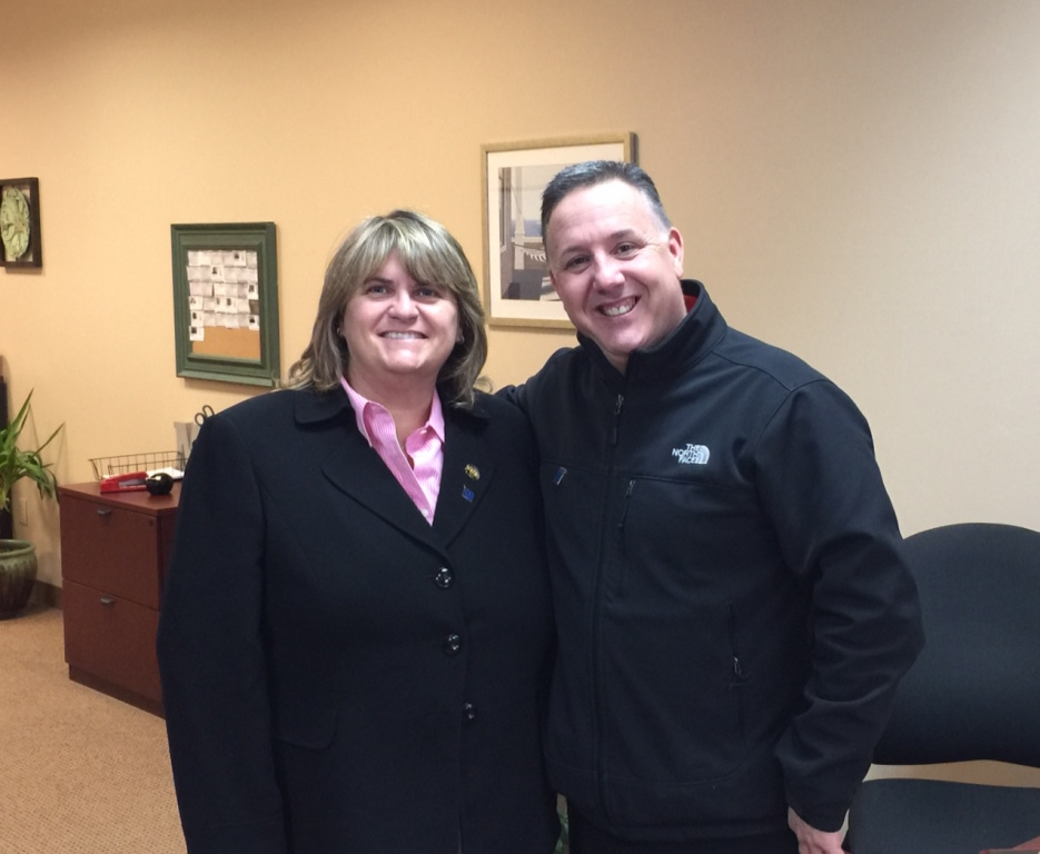 Brian Molisse pictured with Kim Allard-Moccia of Molisse Realty Group