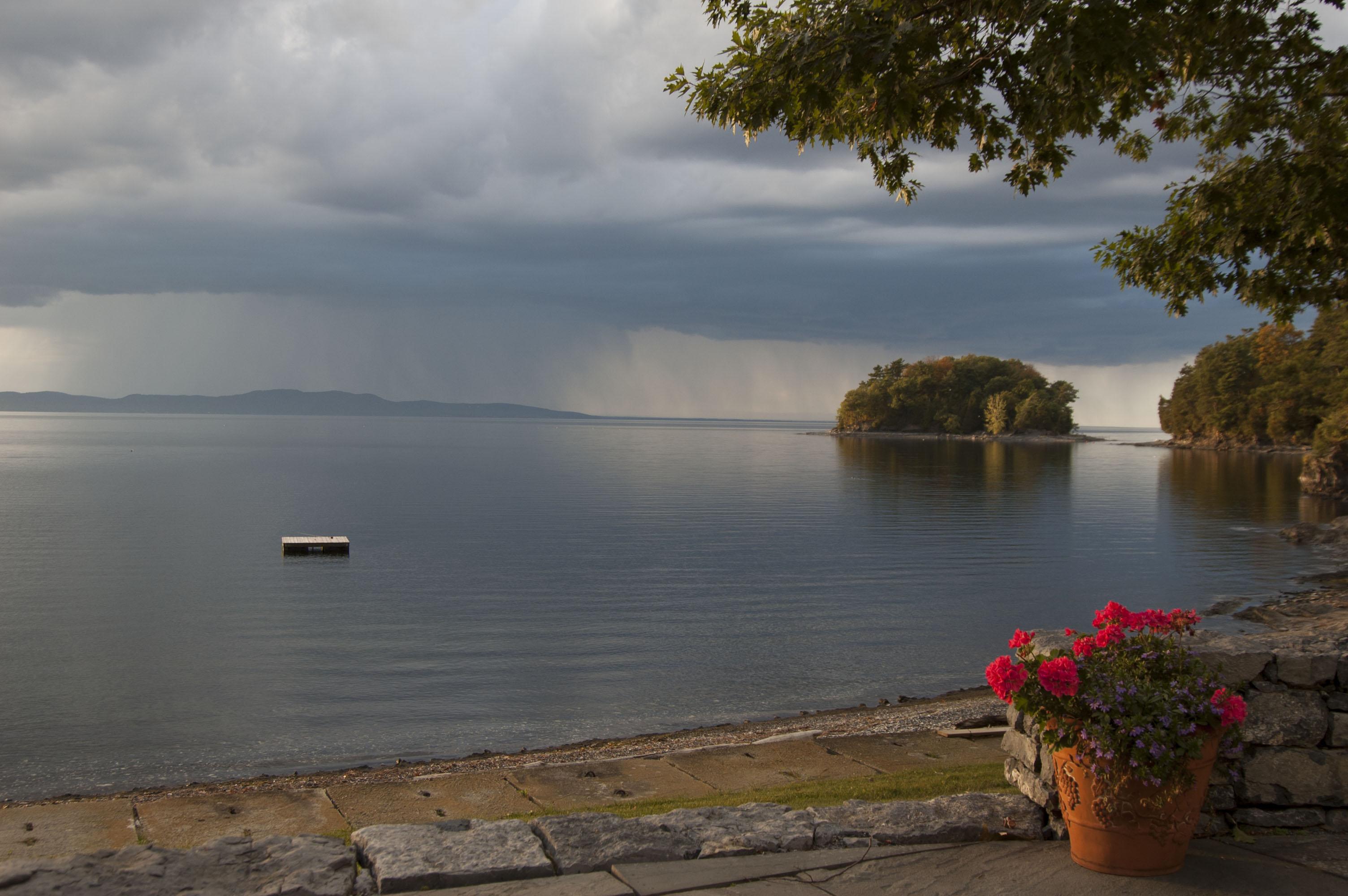Lake Champlain Vermont