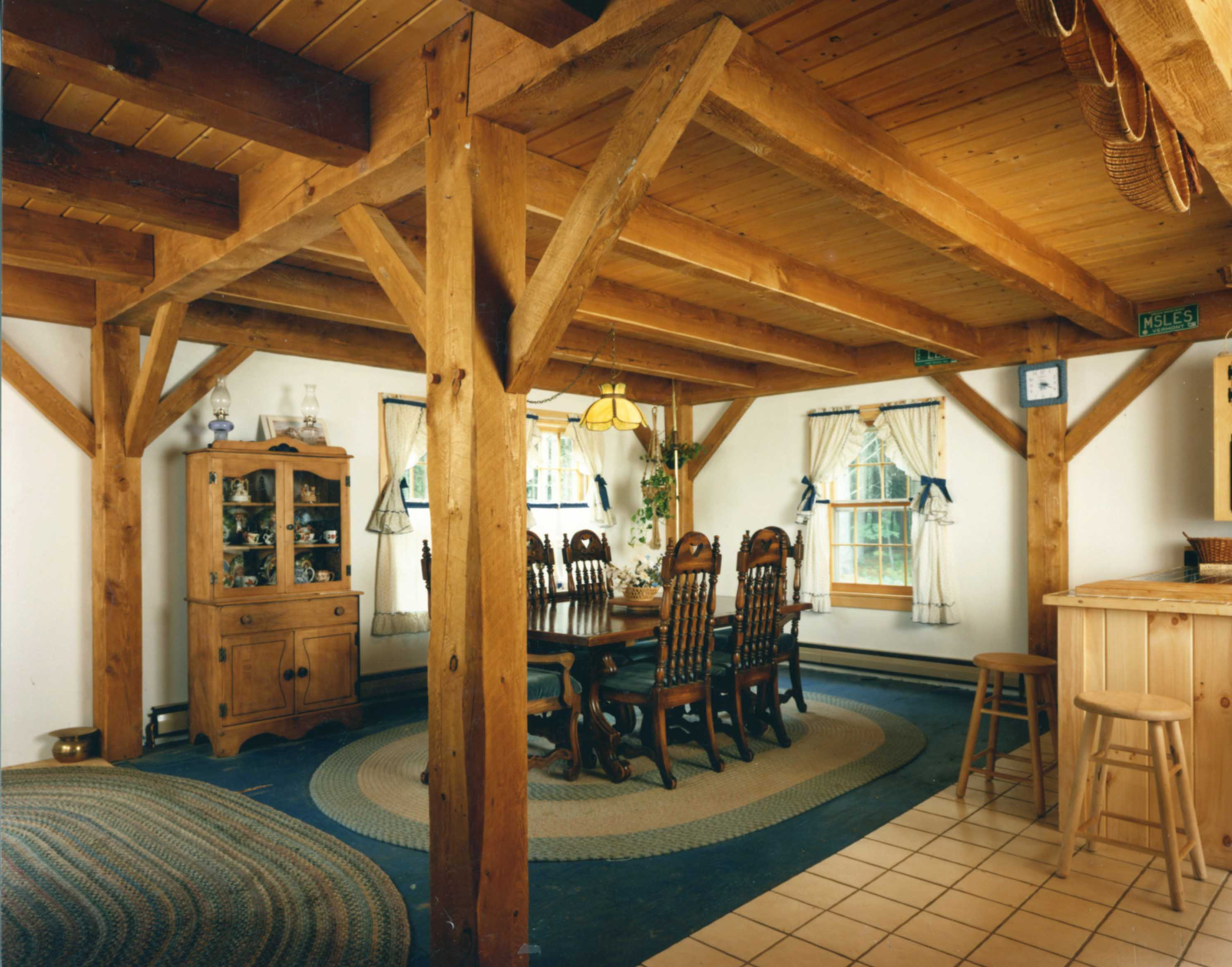 Southern Vermont Post and Beam Homes