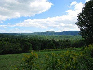 View from the Long Trail in Shaftsbury Vermont