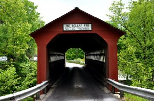 Covered Bridge in Sunderland Vermont