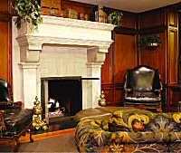 Church Park - Luxury Apartment Fireplace