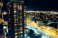 Luxury Apartments - Avalon at Prudential Nighttime View