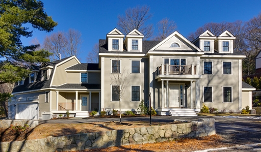 New Construction Home in Wellesley MA