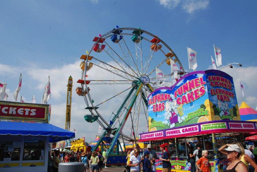 The Bondville Fair in Vermont