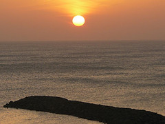 Sunrise @ Cape Comorin