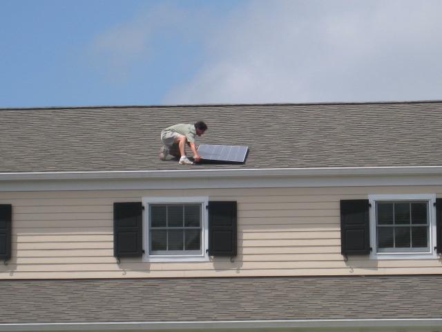 Solar Panel on Dennis Police Station
