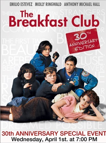 The Breakfast Club 30th Anniversay Edition at The Movie House in Millerton CT