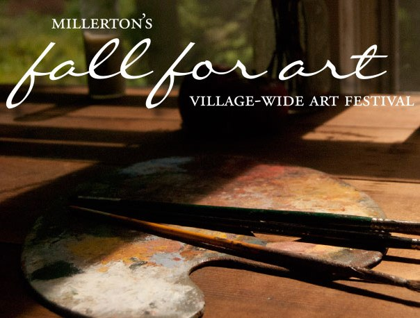 Fall for Art Weekend in Millerton NY