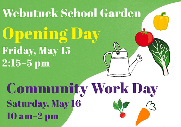 Webutuck School Garden Opening Day at Webutuck Central High in Amenia NY