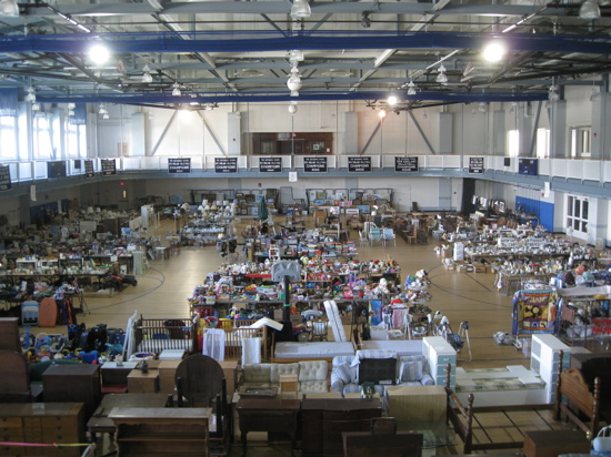 habitat's Giant Tag Sale at The Hotchkiss School in Lakeville CT
