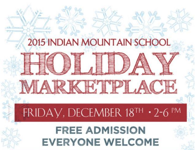 Indian Mountain School Holiday Marketplace