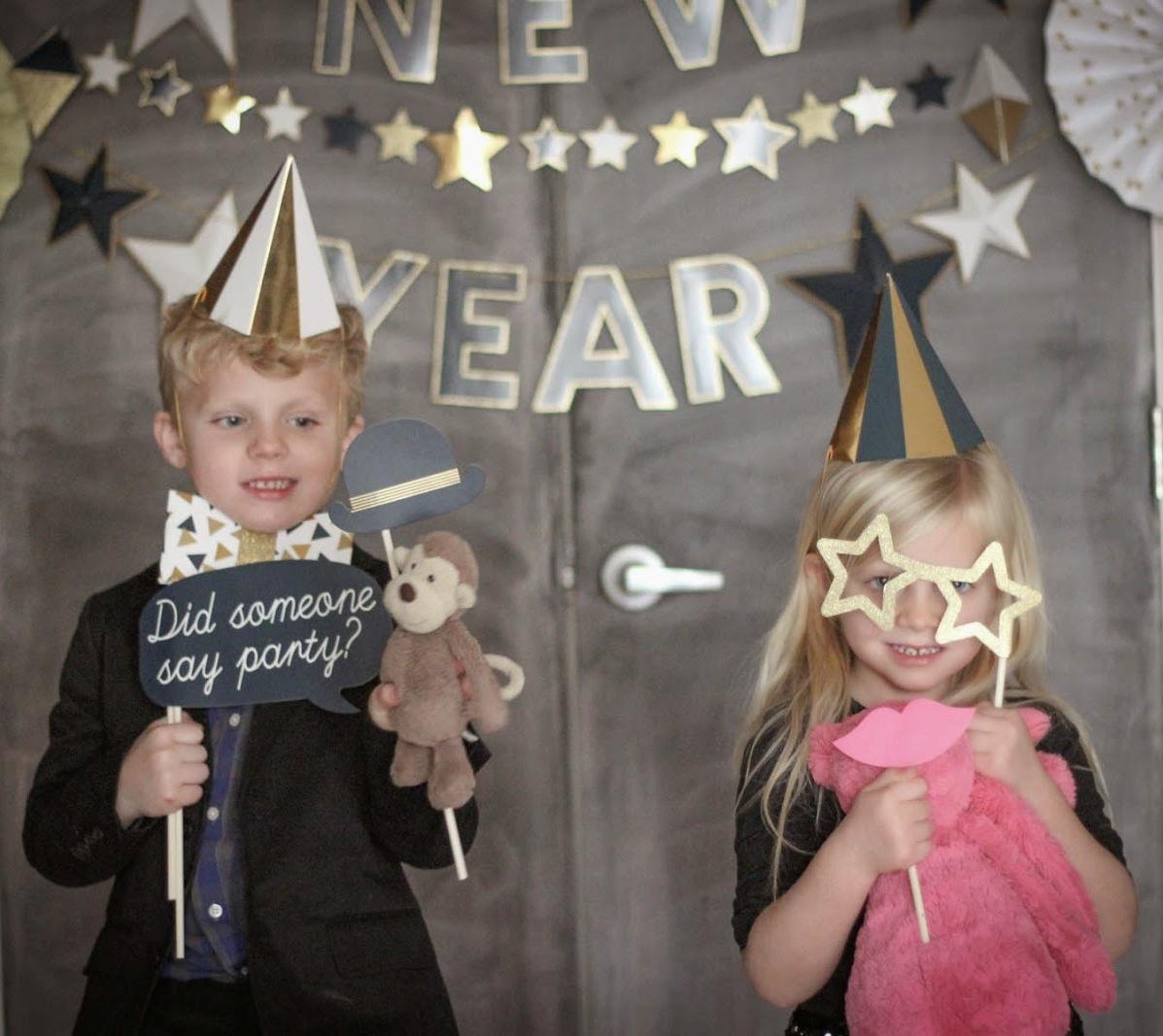 Kids' New Year's Party at Scoville Memorial Library