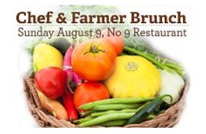 Chef & Farmer Brunch at No. 9 Restaurant in Millerton NY